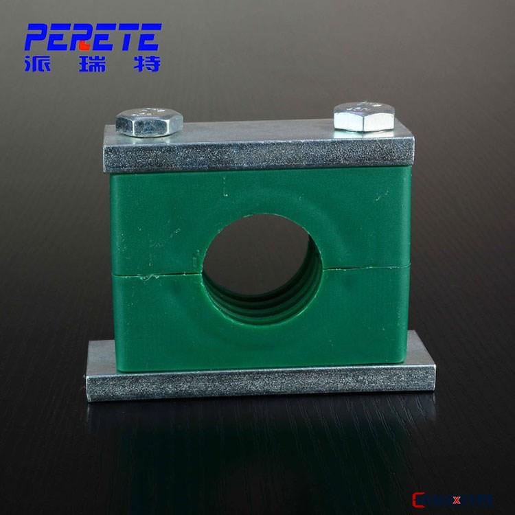 西德福重型长底板塑料管夹 船用重型液压管夹 防腐蚀液压管夹
