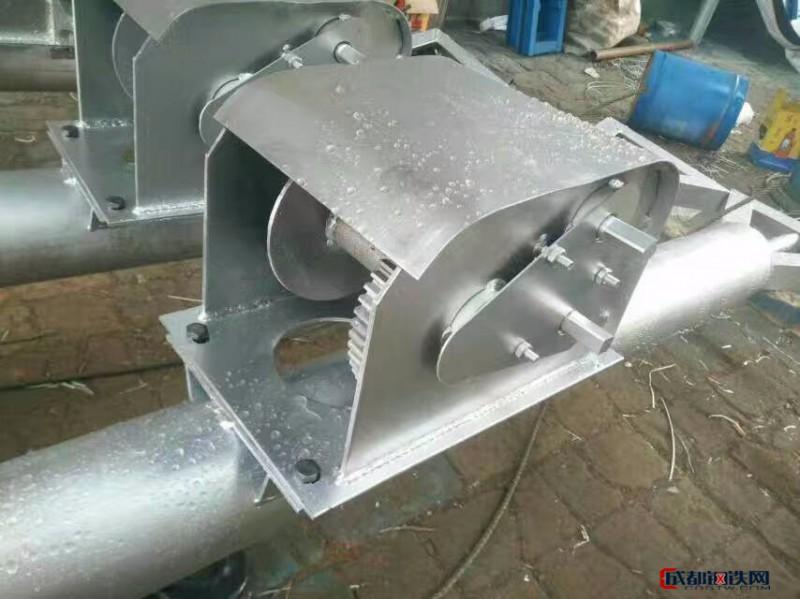 ABB销售直径120x5圆管式立杆机三角方管立杆机