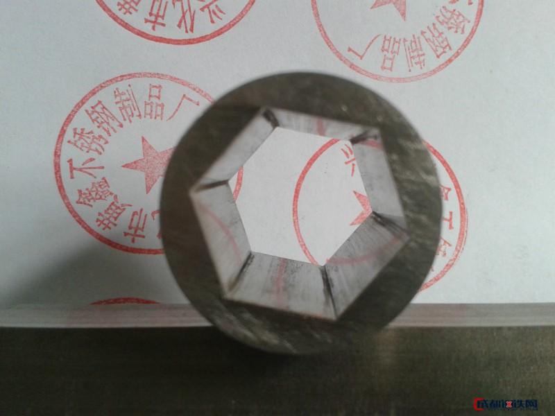不锈钢外圆内六角管内六角钢管