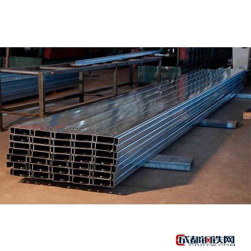 安阳美星 C型钢供应厂家  镀锌C型钢价格