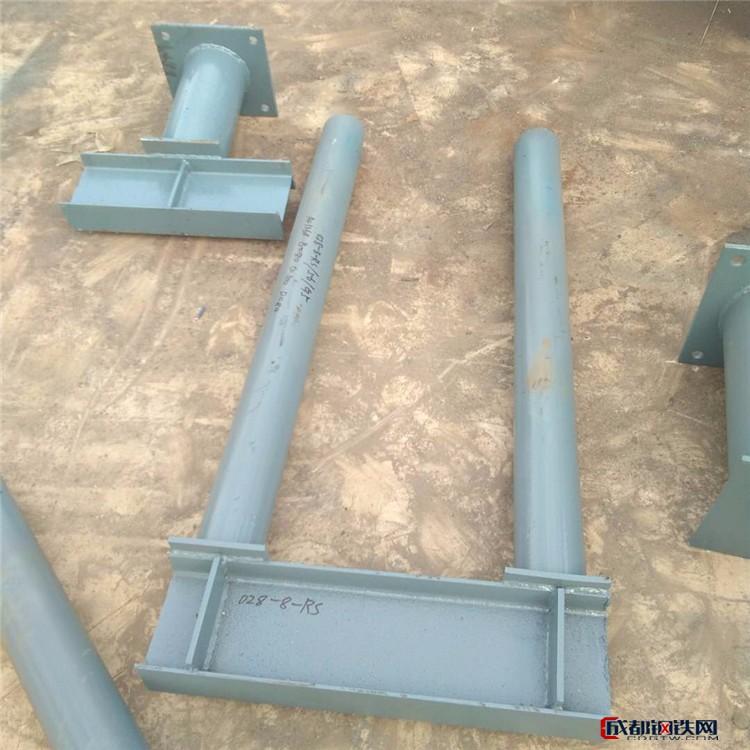 G11管夾型彎管用支架帶角鋼水平管支架齊鑫專業廠家