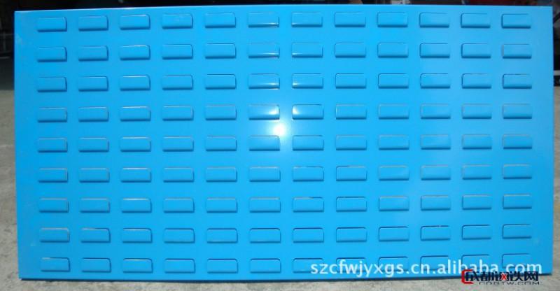 物料盒挂板 工具挂钩挂板 冷轧板工具挂板 创富新源公司尺寸定做图片