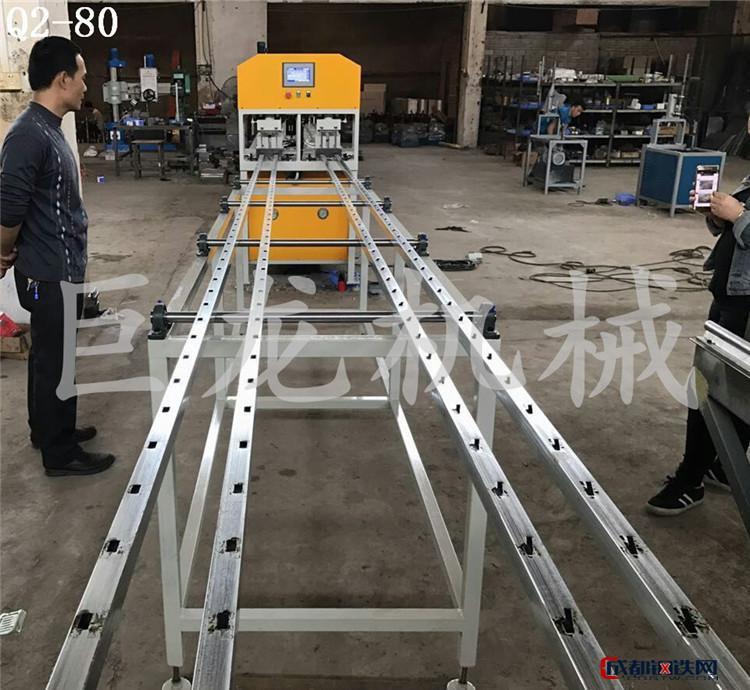 镀锌方管冲孔机 全自动数控货架打孔机直销