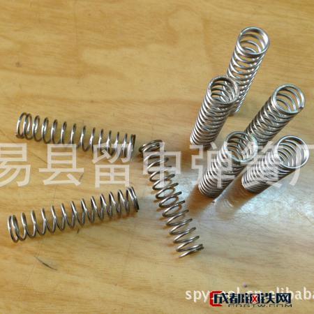 易县留中不锈钢涡卷压缩弹簧 机械五金压缩弹簧厂 定制加工 压缩弹簧 冷卷弹簧