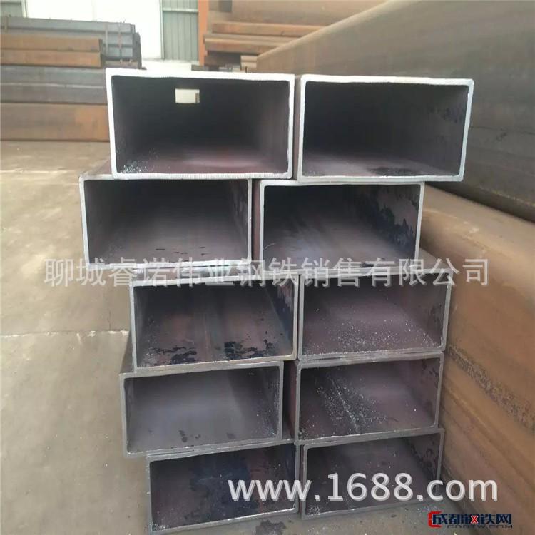 天津無縫矩形管 現貨焊接矩形管  q345矩管801002.0-5.0