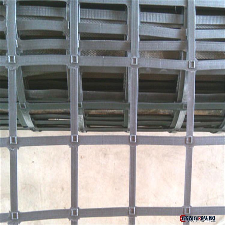 联拓 高强凸结点钢塑土工格栅 耐磨损高强凸结点钢塑土工格栅 低价供应钢塑复合土工格栅厂家