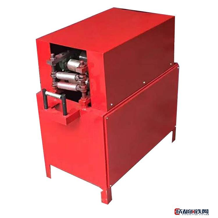 悍博二次加工设备圆管改扁管机 预应力扁管制管机 厂家直销波纹管扁管机图片