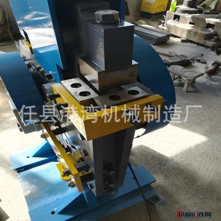 不锈钢压条切断机 冷轧光亮扁钢切断机 冷拉方管冲剪机