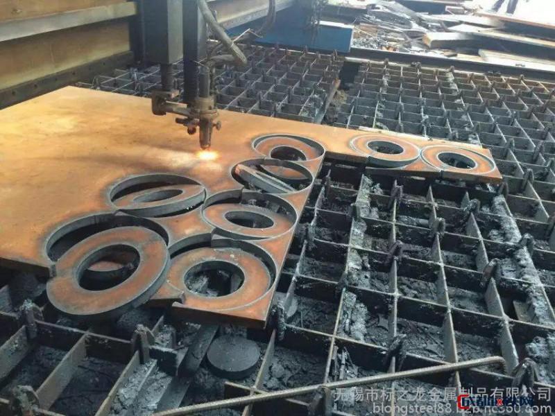 玉树高锰钢50Mn按图纸下料切割