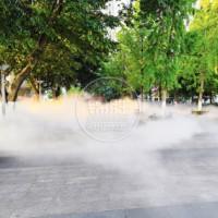 环保冷雾造景--喷雾景观-高压喷雾降尘降温设备