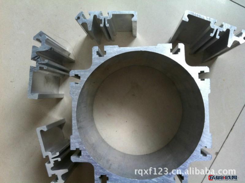 特价装饰圆管铝型材 空心圆管铝型材 任丘圆管铝型材