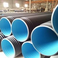 hdpe双壁波纹管厂家 聚乙烯塑料排水管800s2价格