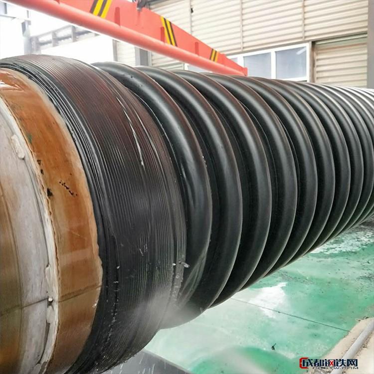 克拉管 聚乙烯缠绕管 B型结构管 市政排水管