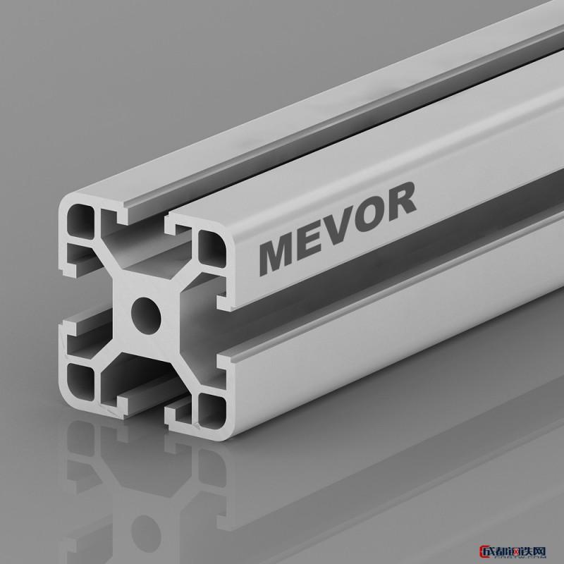 沃萱4040 铝材厂家 工业铝型材 铝型材工业铝型材  铝合金型材 铝型材  非标件型材 铝型材定制图片