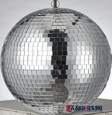 Boray铂锐 LB-03540A银色玻璃球 KTV玻璃球 日月同辉玻璃球