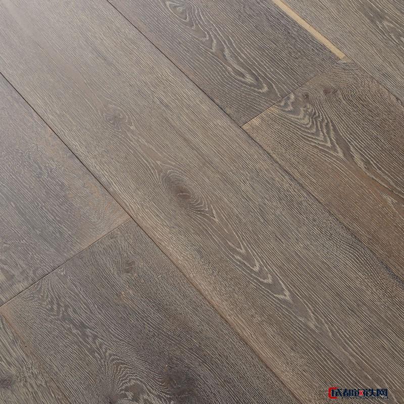 强化复合地板 仿古原木色地板灰色家用环保地板 耐磨防水