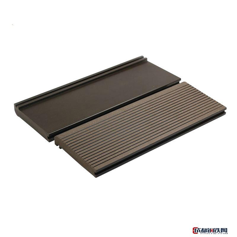 低碳环保WPC材料塑木地板 户外木塑地板 露台泳池木塑地板