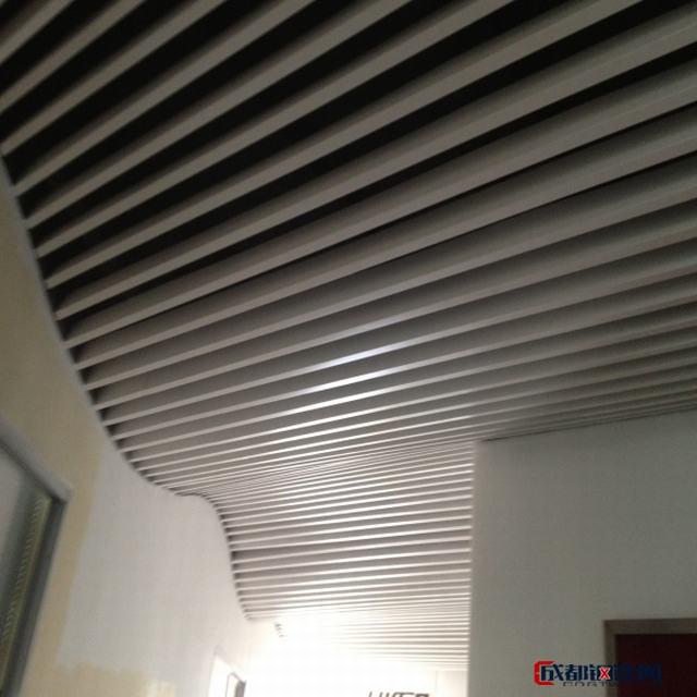 广州豪顶铝格栅、铝方通、铝挂片563
