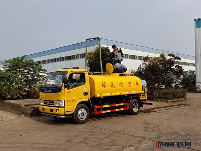 南京5吨园林绿化洒水车配件