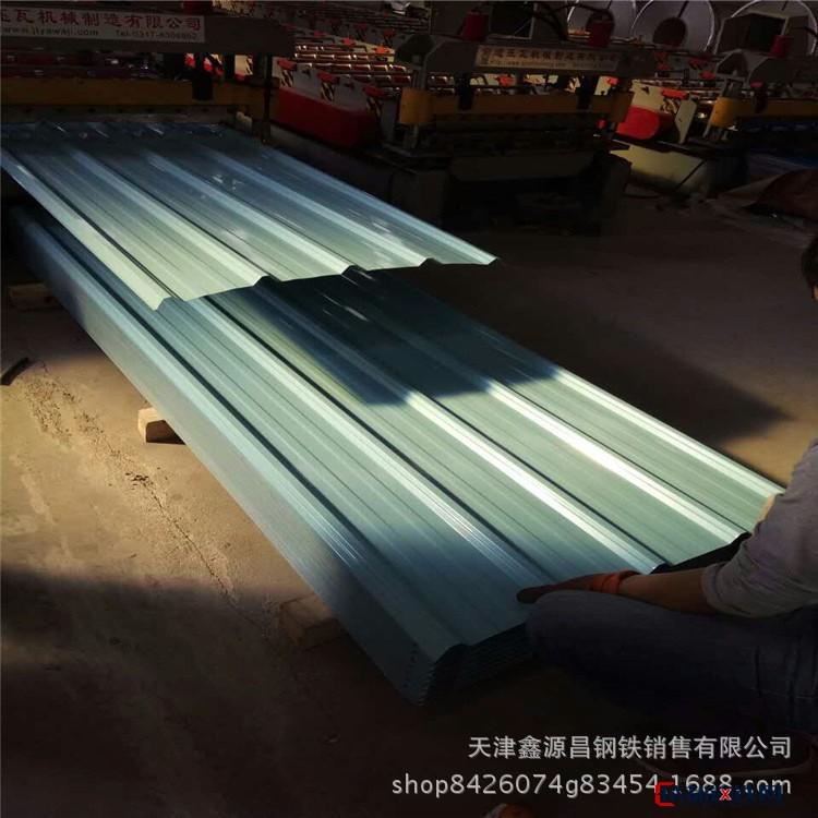 現貨 單層彩涂鋼板 建筑施工彩鋼瓦楞板 環保鍍鋁鋅彩涂卷 彩涂板圖片