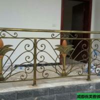 成都青羊区铁艺阳台飘窗栏杆围栏 栅栏 护栏