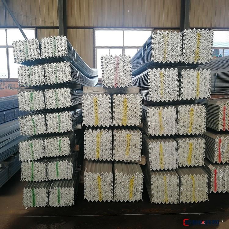 专业销售8号镀锌角钢 常用镀锌角钢 镀锌花角钢价格 专业销售