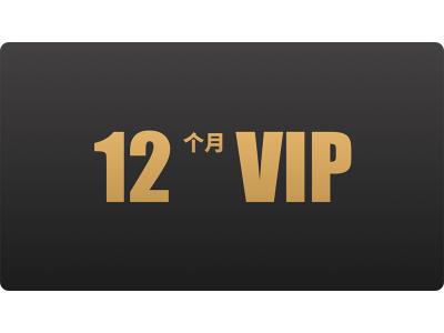 12个月VIP兑换券