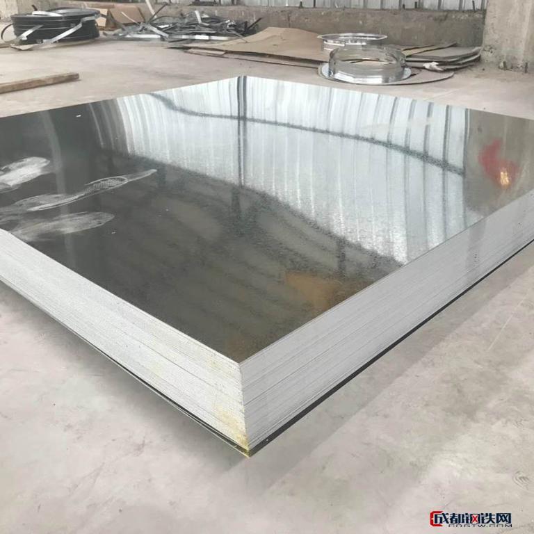 厂家直销镀锌薄板 热镀锌板 镀锌板白铁皮 量大从优图片