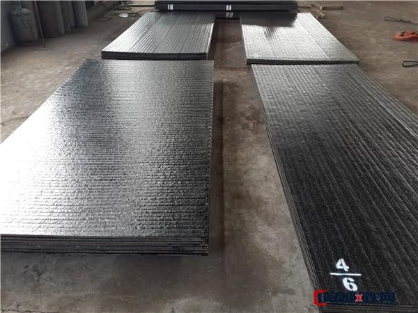 堆焊耐磨板 双金属复合耐磨板 10+8堆焊高铬高硬度复合耐磨板