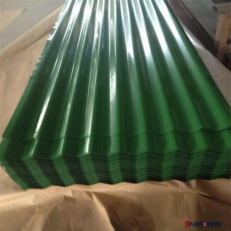 济南忠发彩涂铝卷 彩涂板规格 彩涂瓦楞板多种规格定制