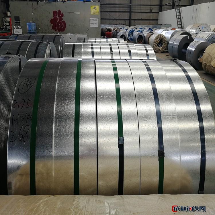 高鋅層鍍鋅卷 z60鍍鋅板 275克鍍鋅板 酒鋼鍍鋅板 規格齊全圖片