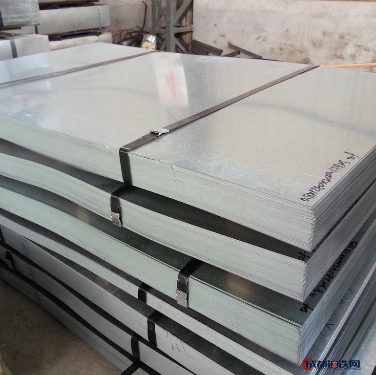 镀锌薄钢板 热镀锌板厂家 镀锌板价格 2mm热镀锌板 量大从优图片
