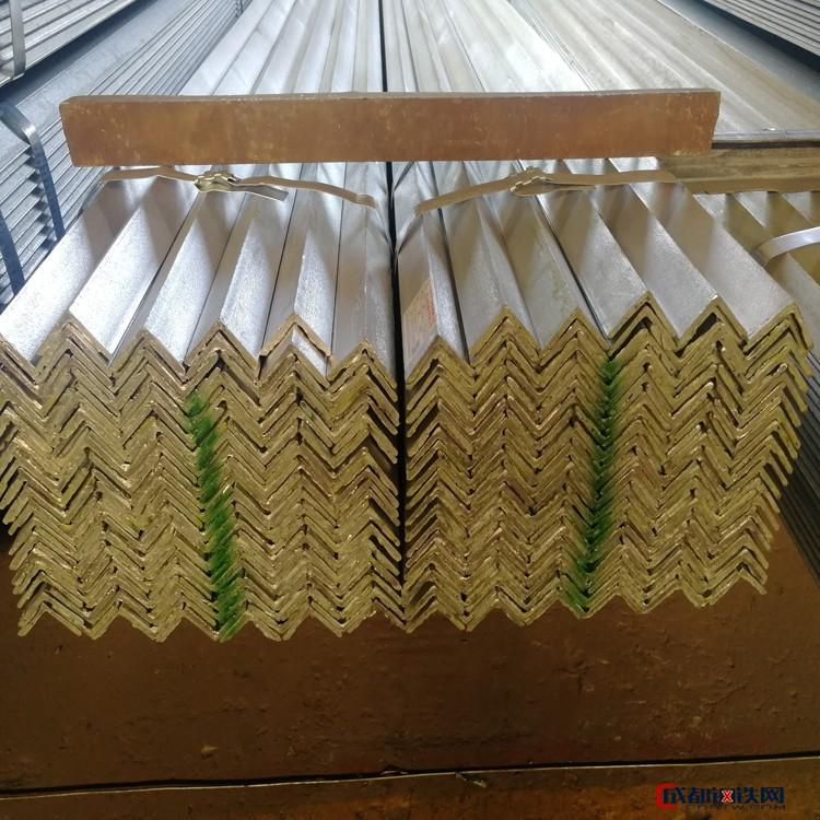 镀锌角钢批发 天津镀锌角钢厂家 50镀锌角铁价格 40热镀锌角钢 质量稳定