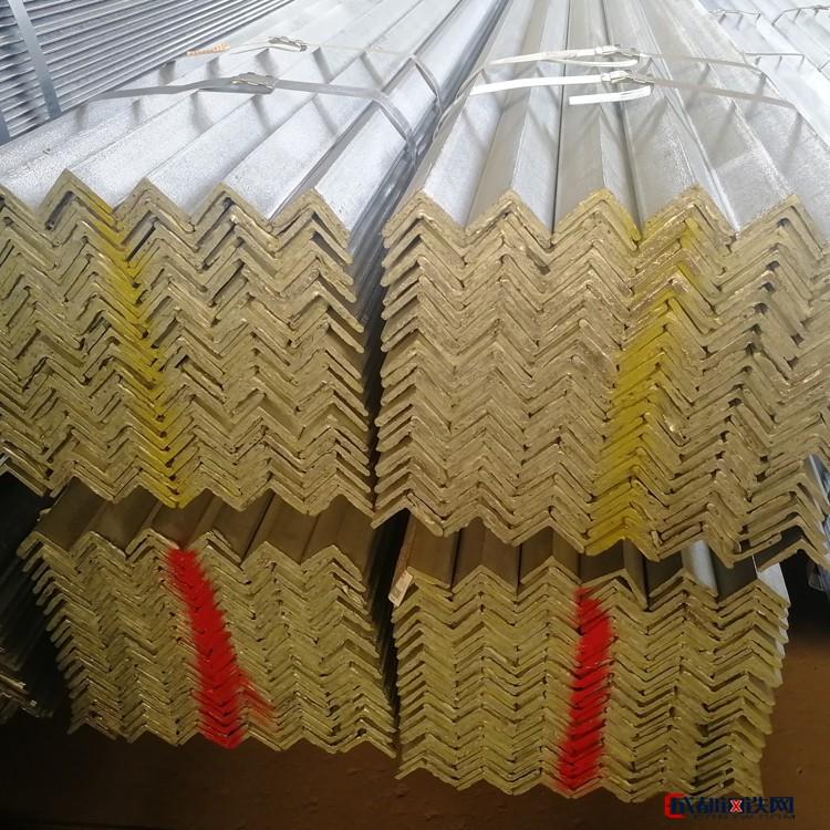 角钢5号镀锌 40镀锌角钢 镀锌接地角钢 天津镀锌角铁品质保证