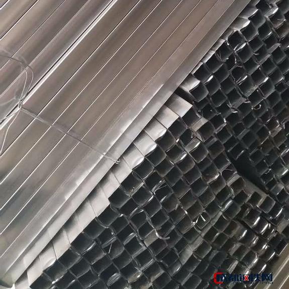 天津 镀锌带方管 天津镀锌方管 镀锌管定尺加工 家具 镀锌方管  薄壁小方管 镀锌带方管 家具结构管