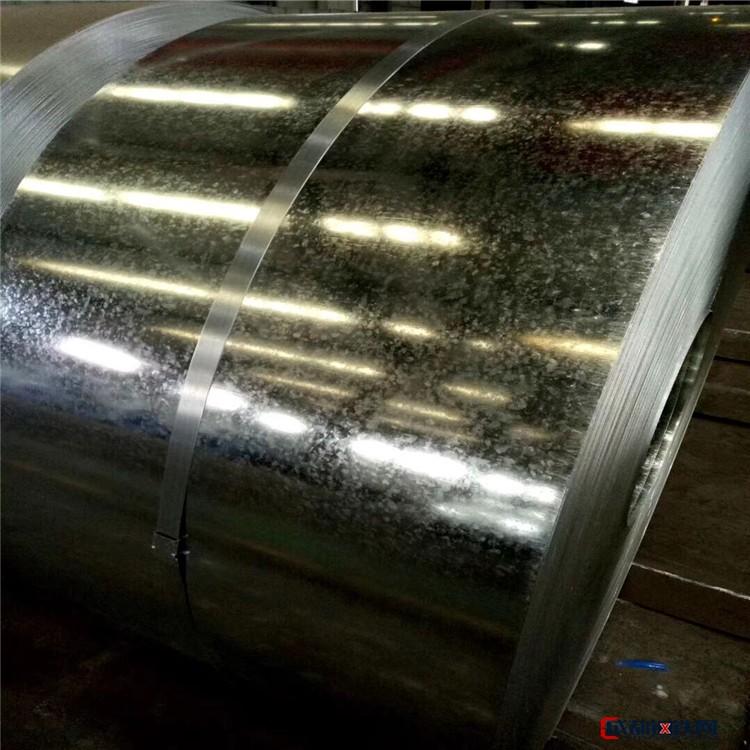 現貨鍍鋅板 折彎加工鍍鋅板 開平鍍鋅鋼板 鍍鋅卷規格齊全圖片