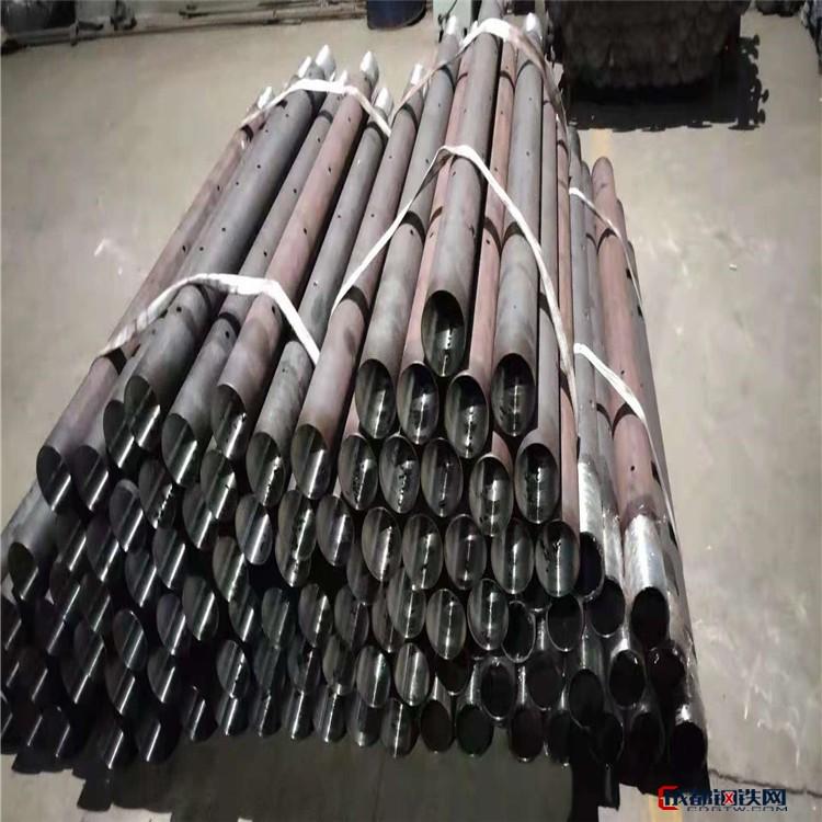 张家口钢花管厂家供应无缝钢花管 地质管