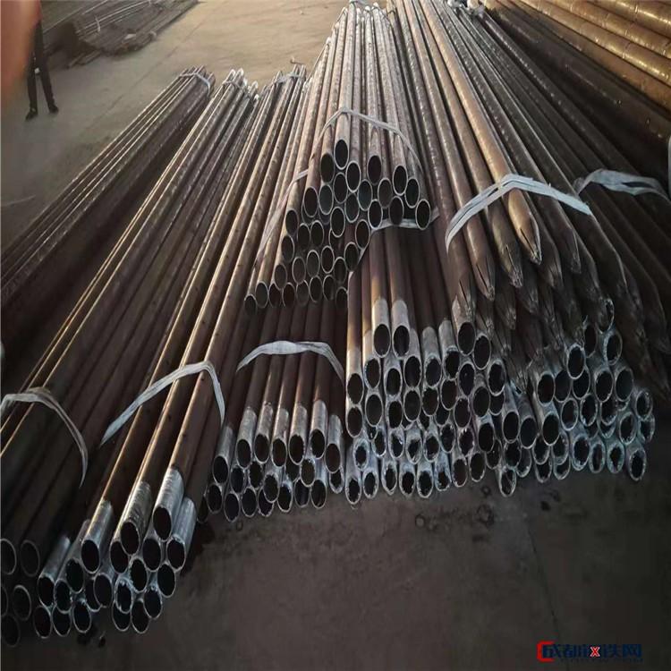 无缝钢花管 钢花管价格 地质管 钻头芯管 河南钢花管图片