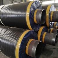 钢套钢地埋保温蒸汽管