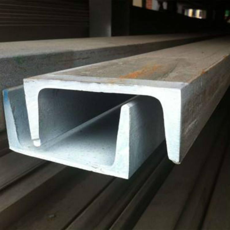 镀锌槽钢厂家直销_Q235B热轧镀锌槽钢_槽钢价格_槽钢_镀锌槽钢