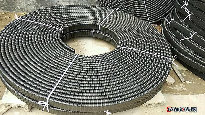 塑料波紋管 橋梁預應力波紋扁管 規格齊全圖片