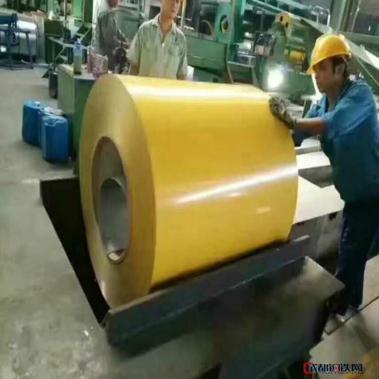 彩涂卷 印花 涂层板彩涂冷轧卷 印花彩涂 奶黄彩涂 彩钢板