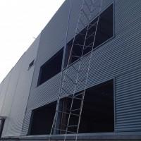 四川钢结构标准厂房隐藏防锈外墙板横铺板厂家供应
